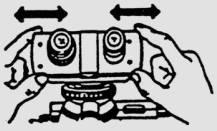 Adjusting lens